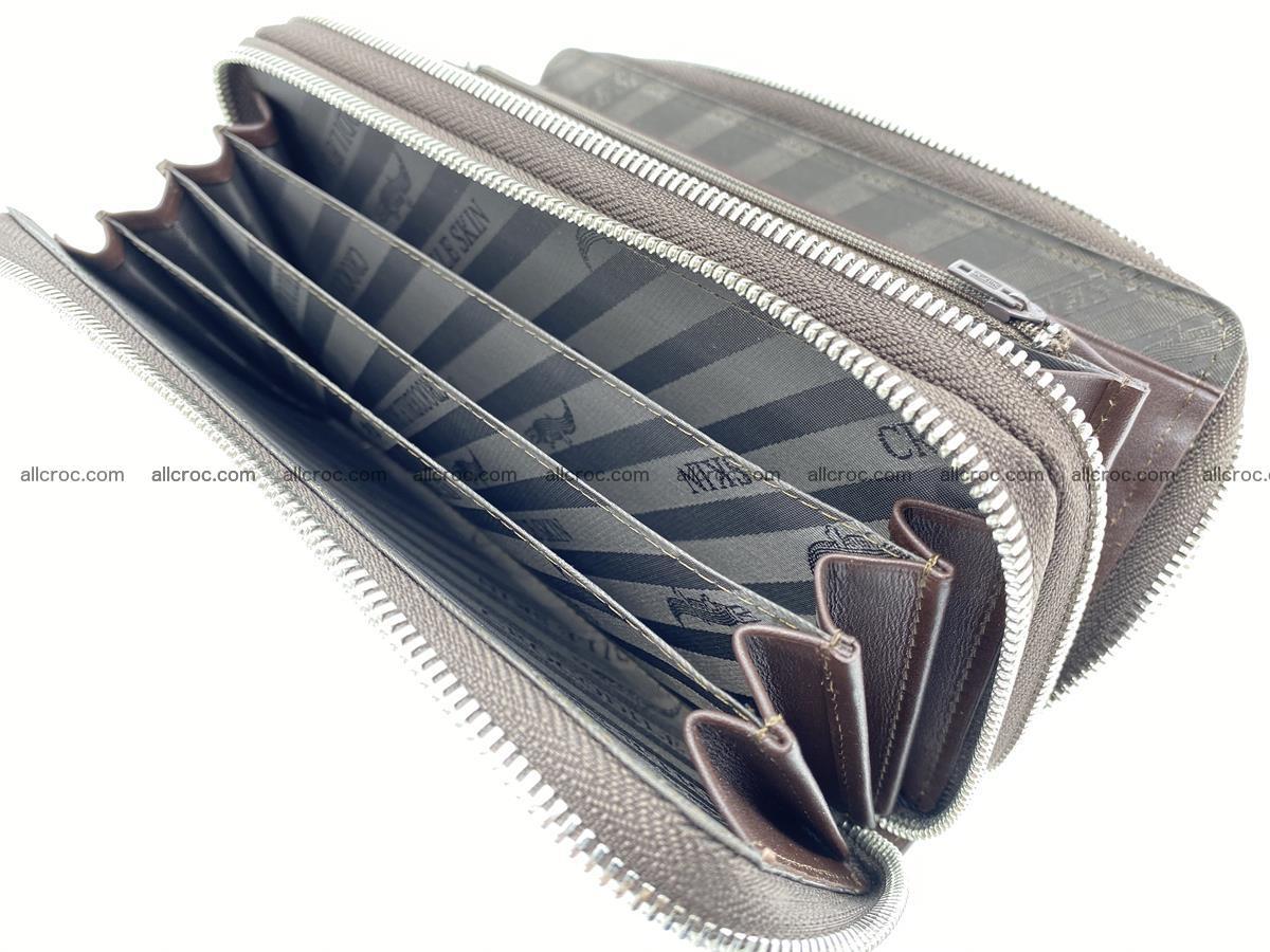 Crocodile skin wallet 2-zips 527 Foto 13