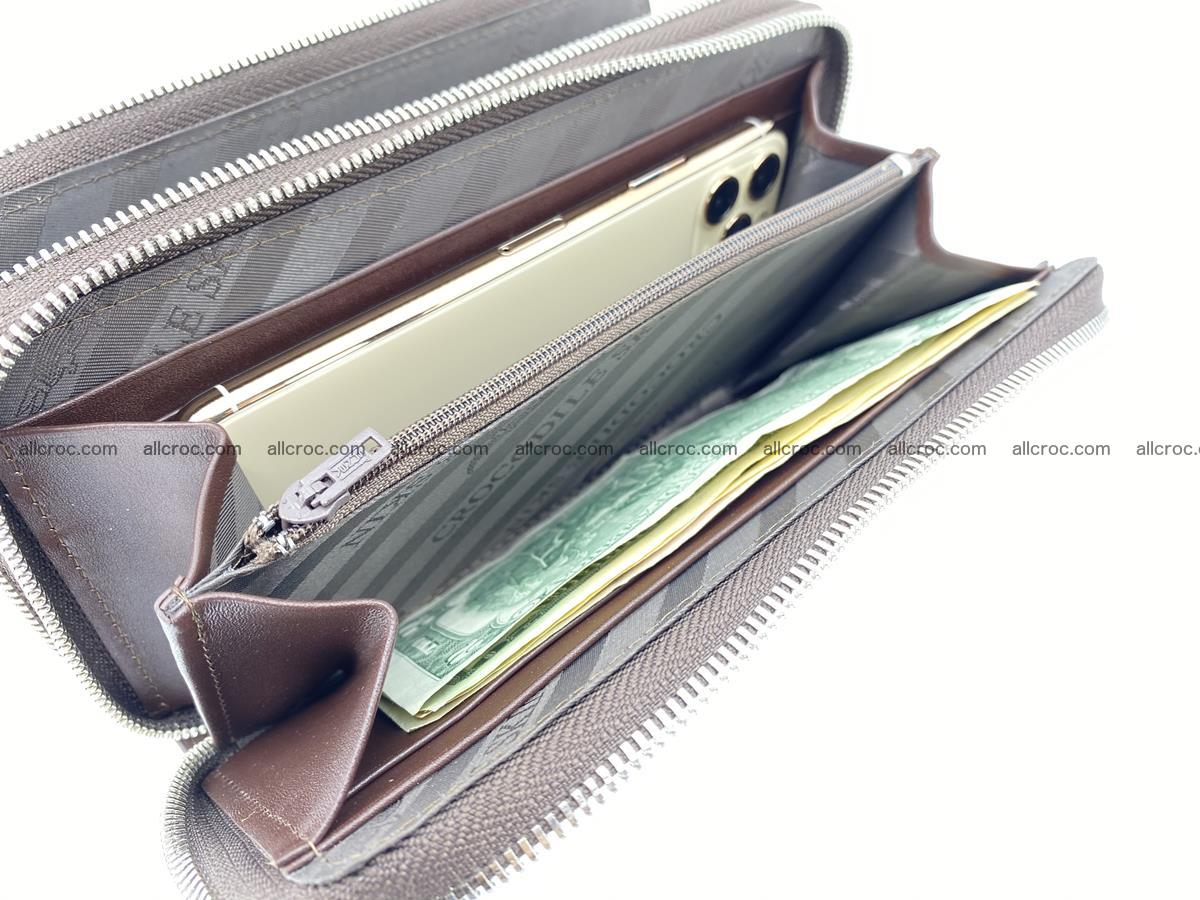 Crocodile skin wallet 2-zips 527 Foto 14