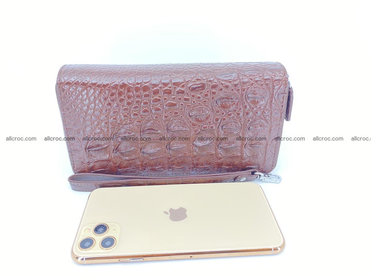 Crocodile skin wallet 2-zips 526 Foto 9