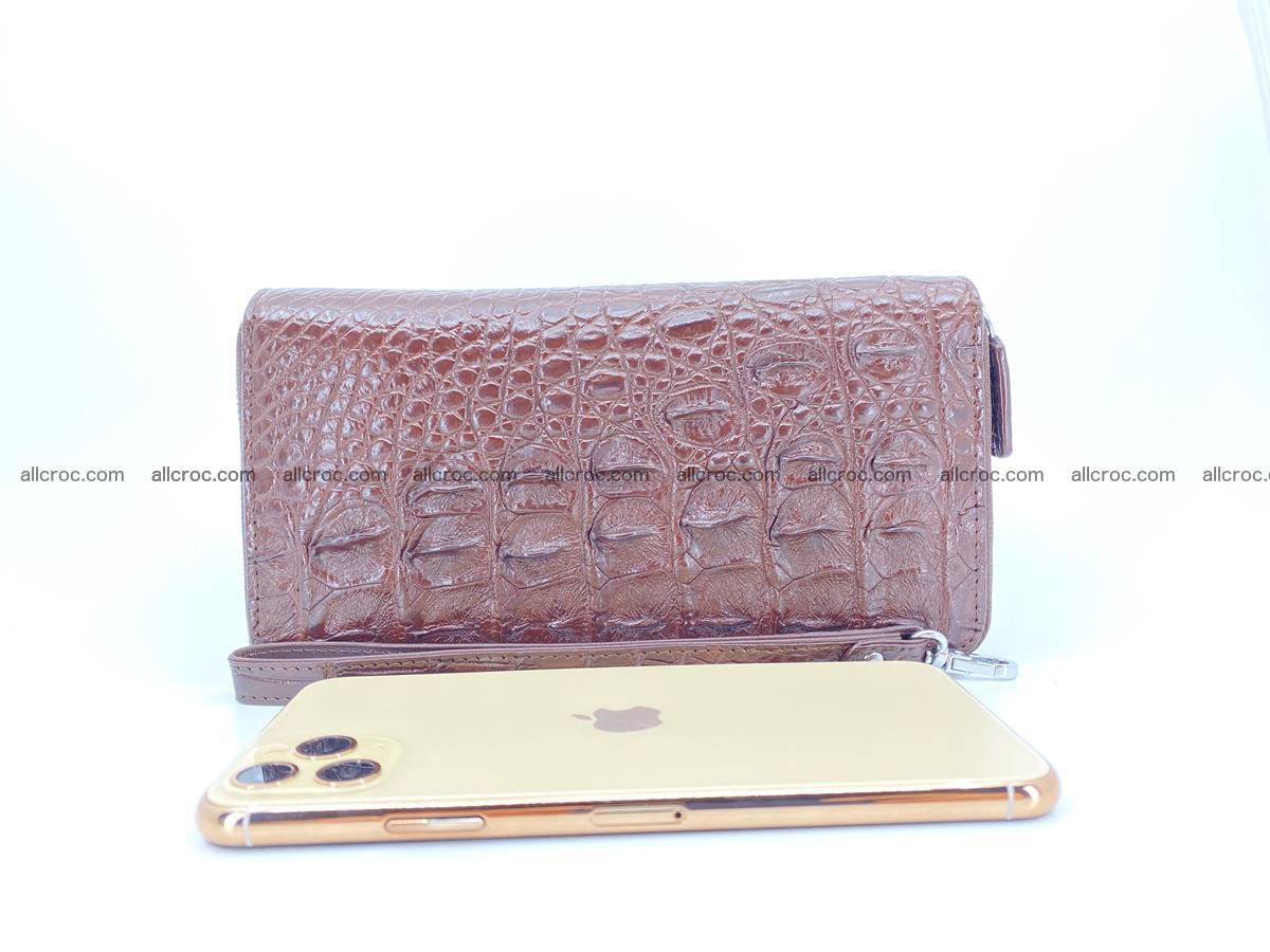 Crocodile skin wallet 2-zips 526 Foto 10