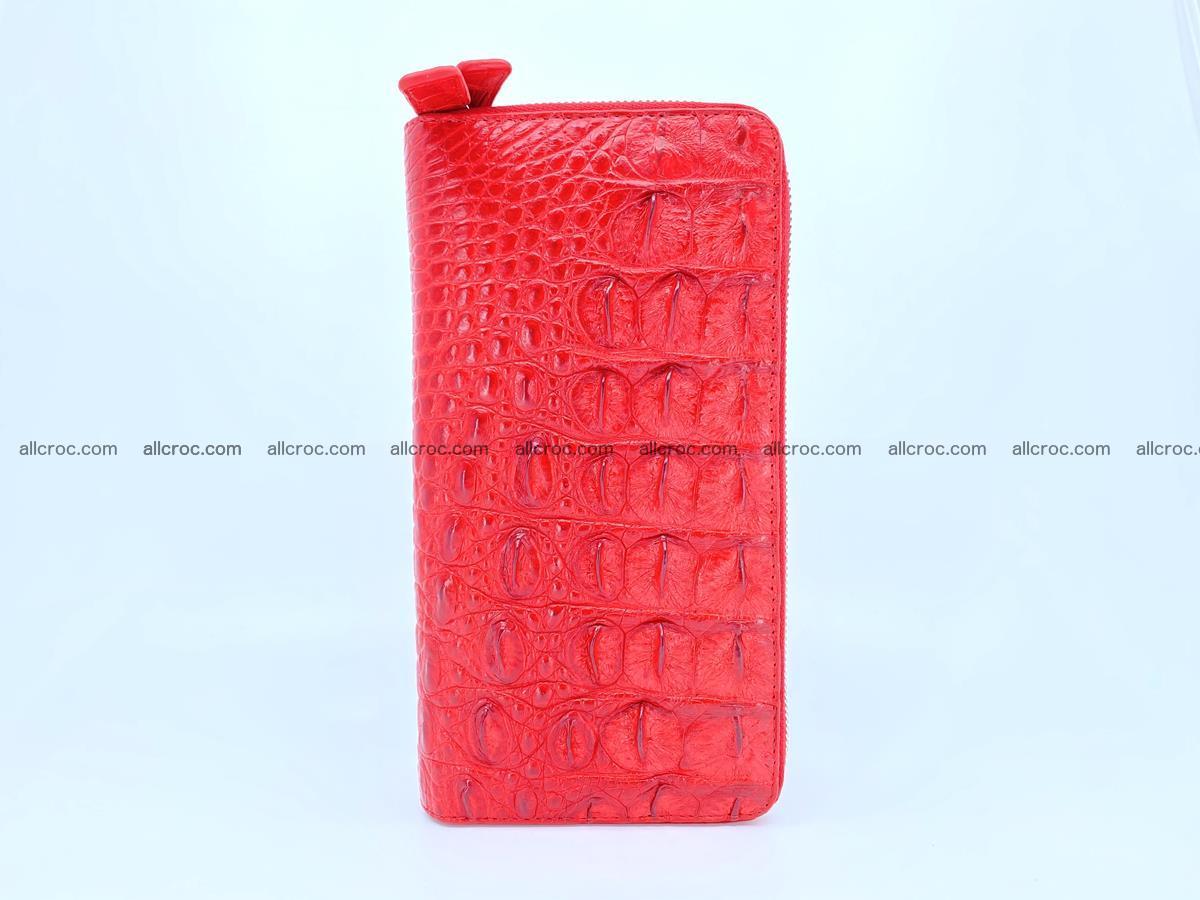 Crocodile skin wallet 2-zips 523 Foto 5