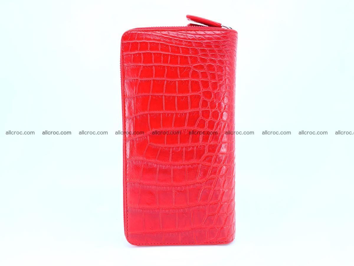 Crocodile skin wallet 2-zips 523 Foto 6