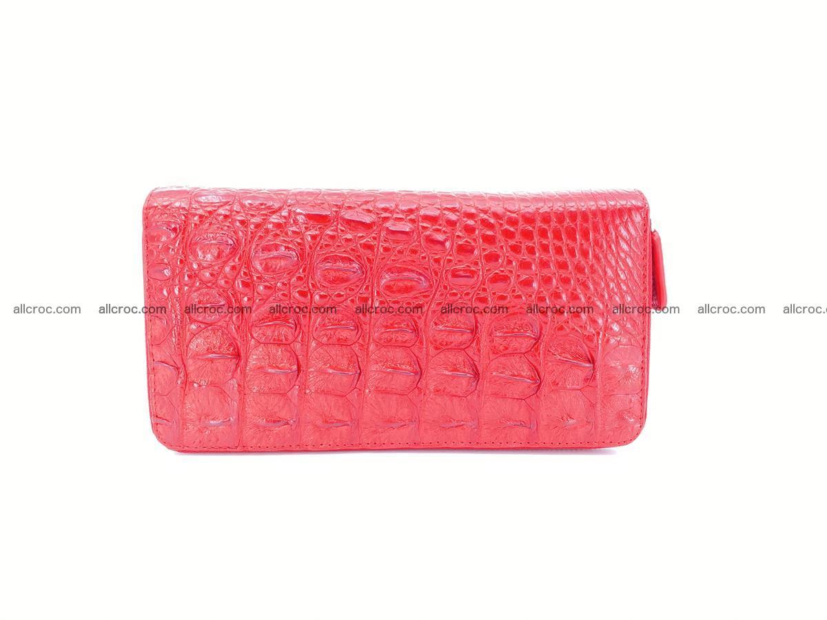 Crocodile skin wallet 2-zips 523 Foto 3