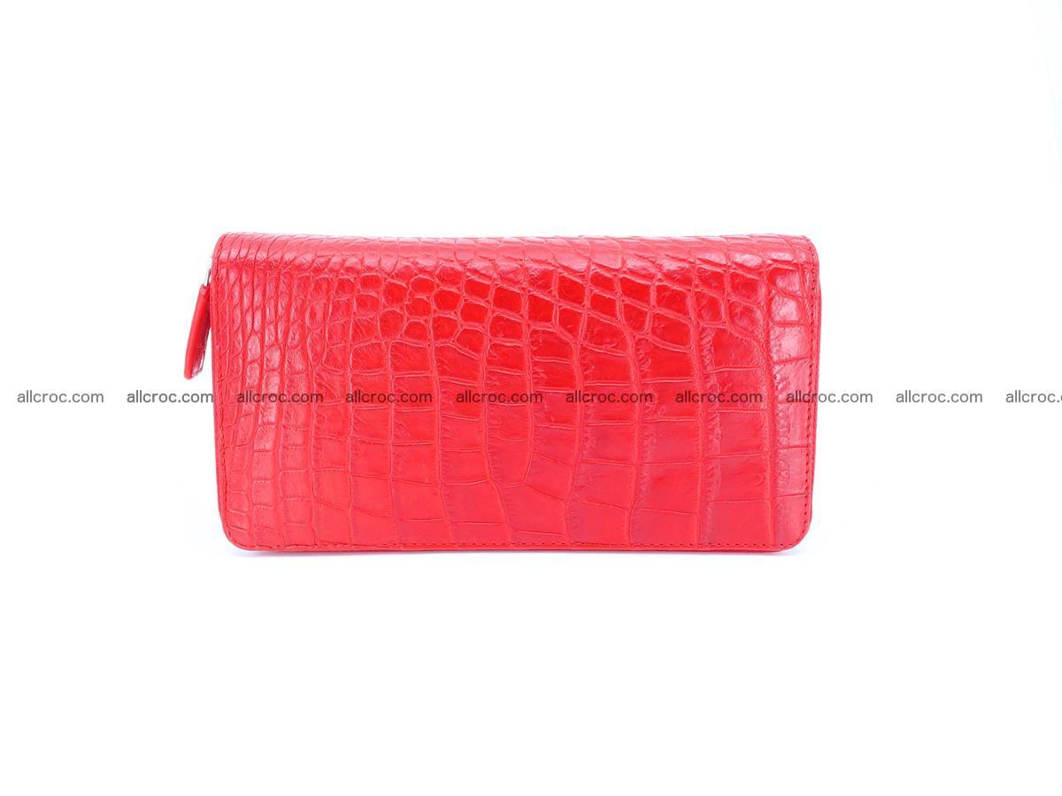 Crocodile skin wallet 2-zips 523 Foto 4