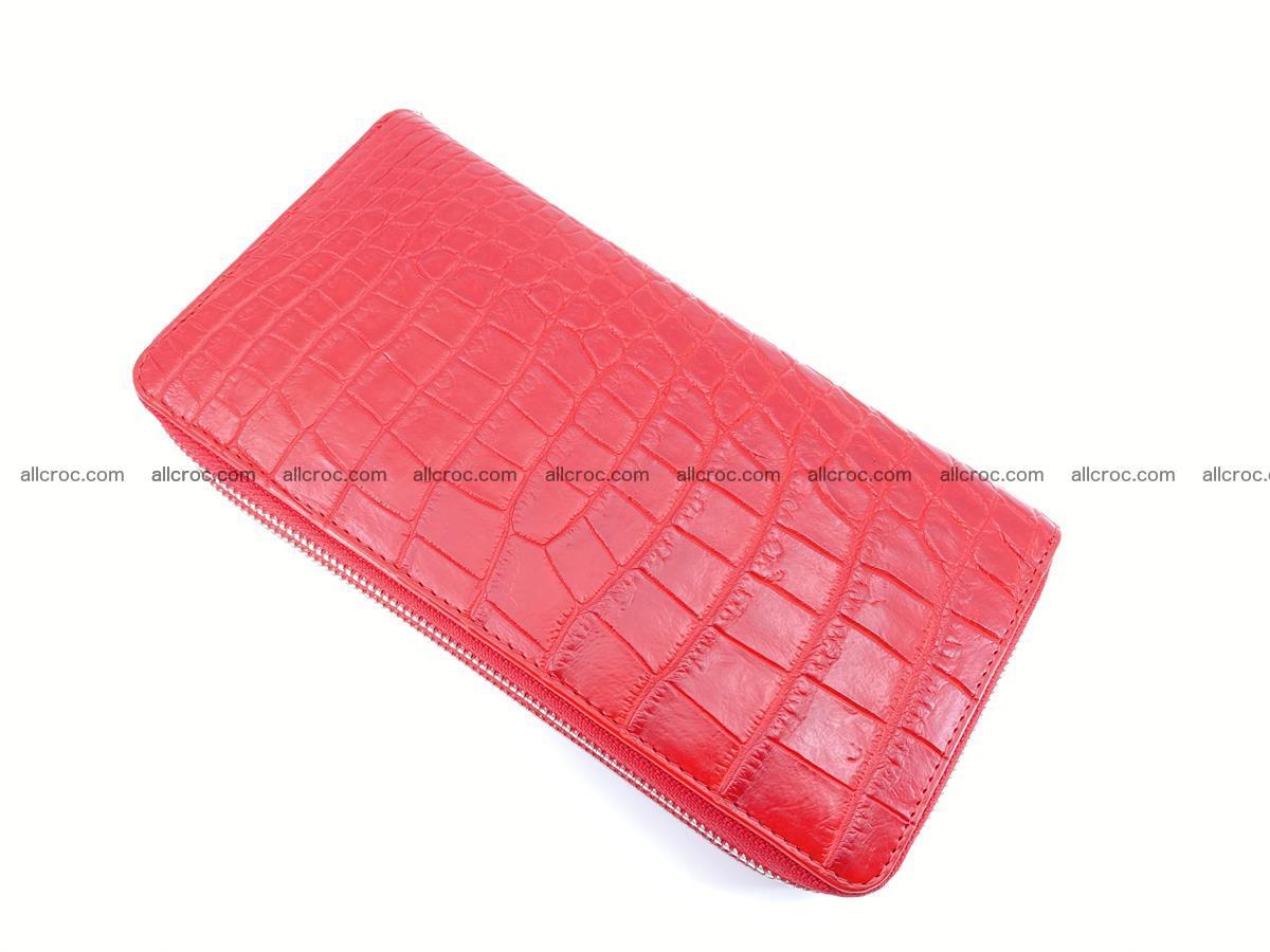 Crocodile skin wallet 2-zips 523 Foto 8