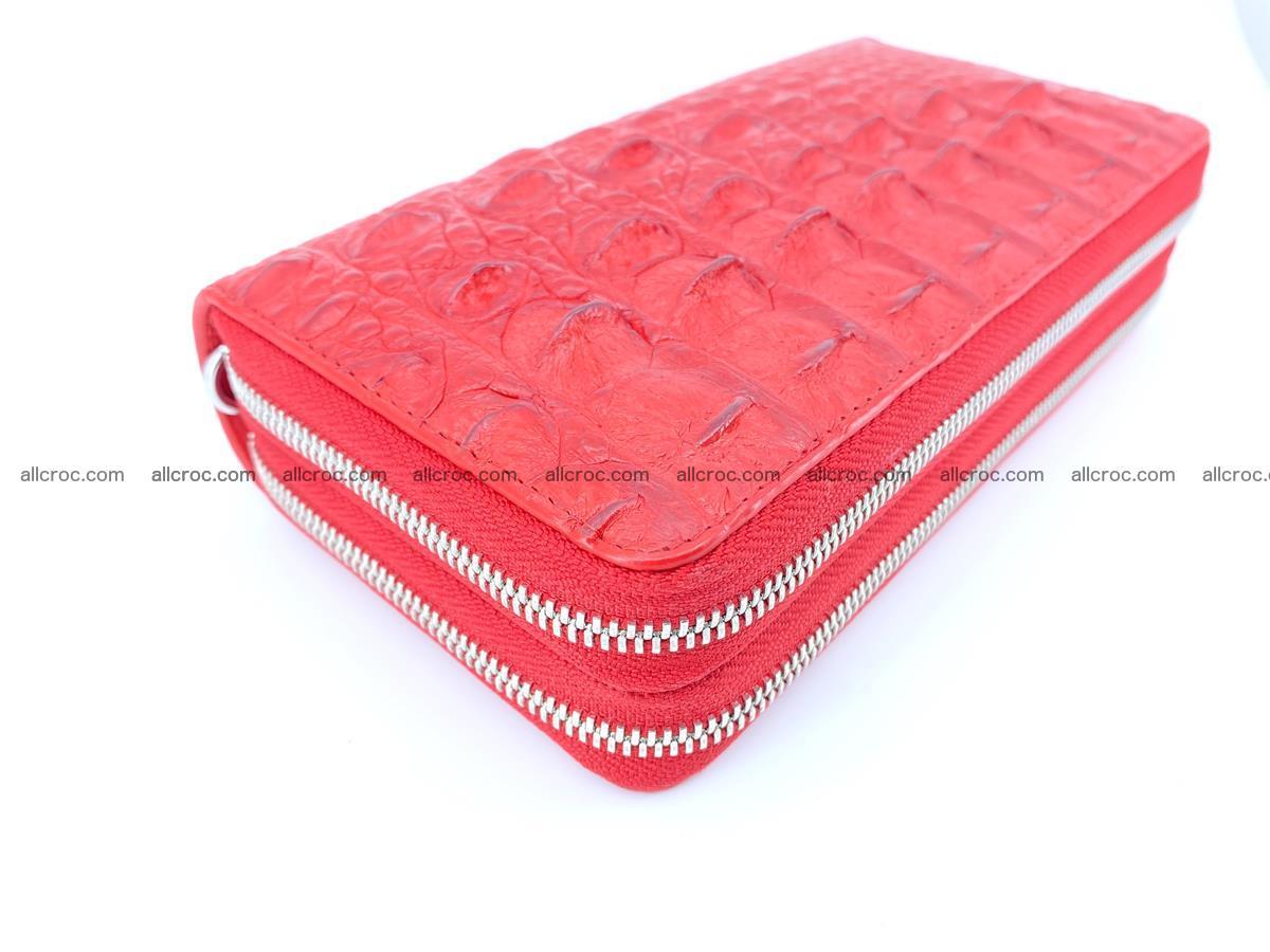 Crocodile skin wallet 2-zips 523 Foto 1