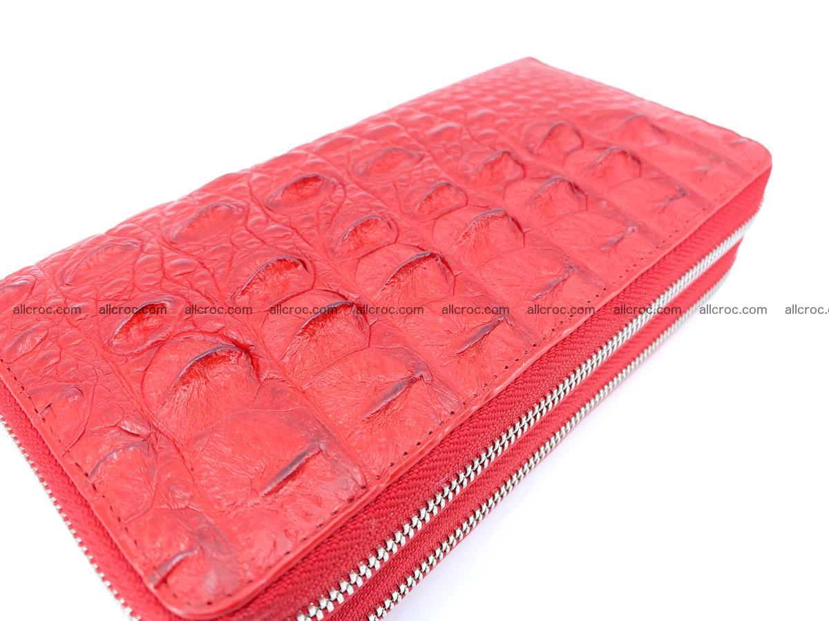 Crocodile skin wallet 2-zips 523 Foto 7