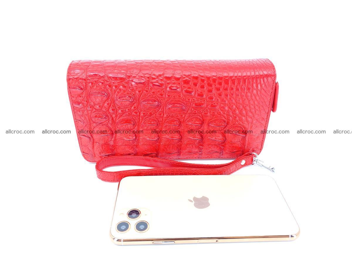 Crocodile skin wallet 2-zips 523 Foto 10