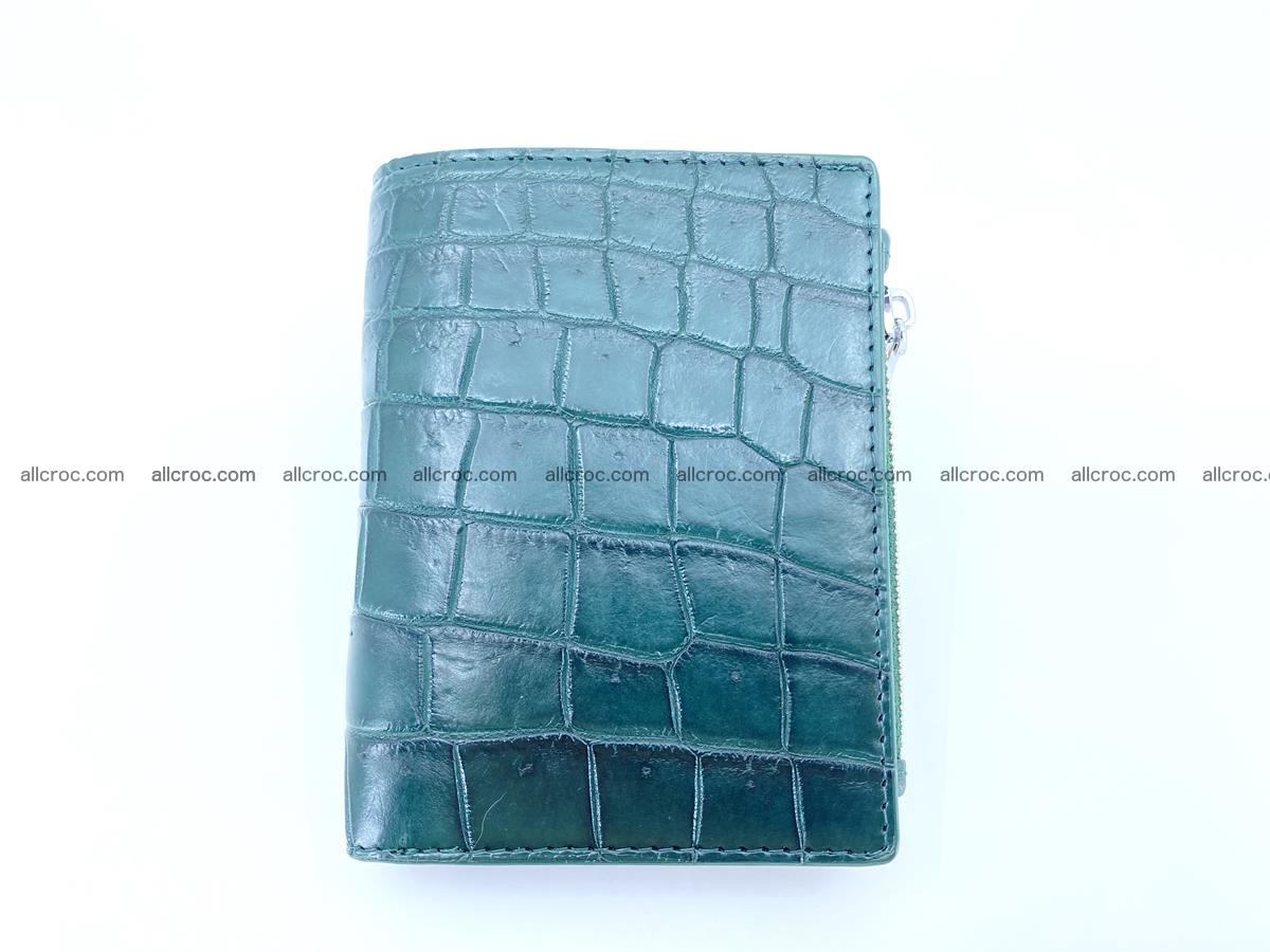 Crocodile leather vertical wallet HK 635 Foto 0
