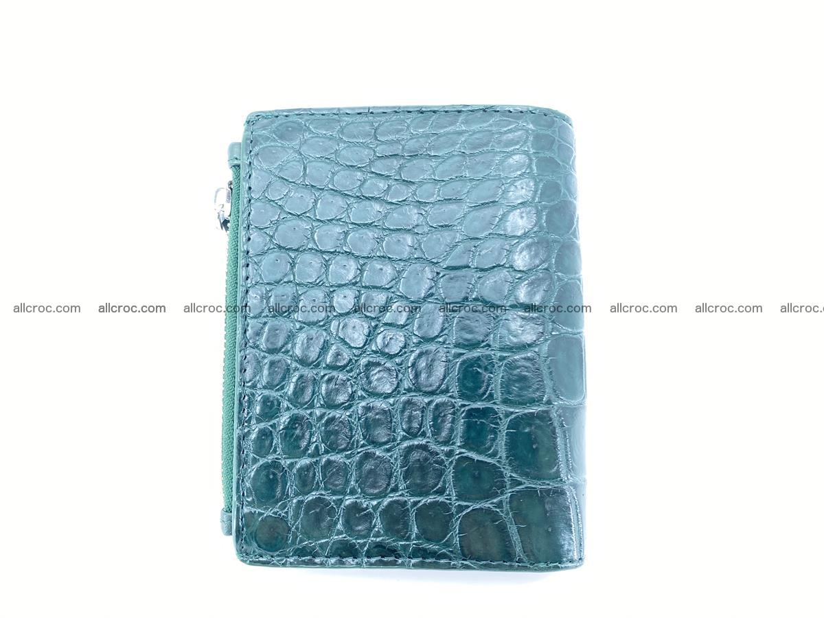 Crocodile leather vertical wallet HK 635 Foto 1