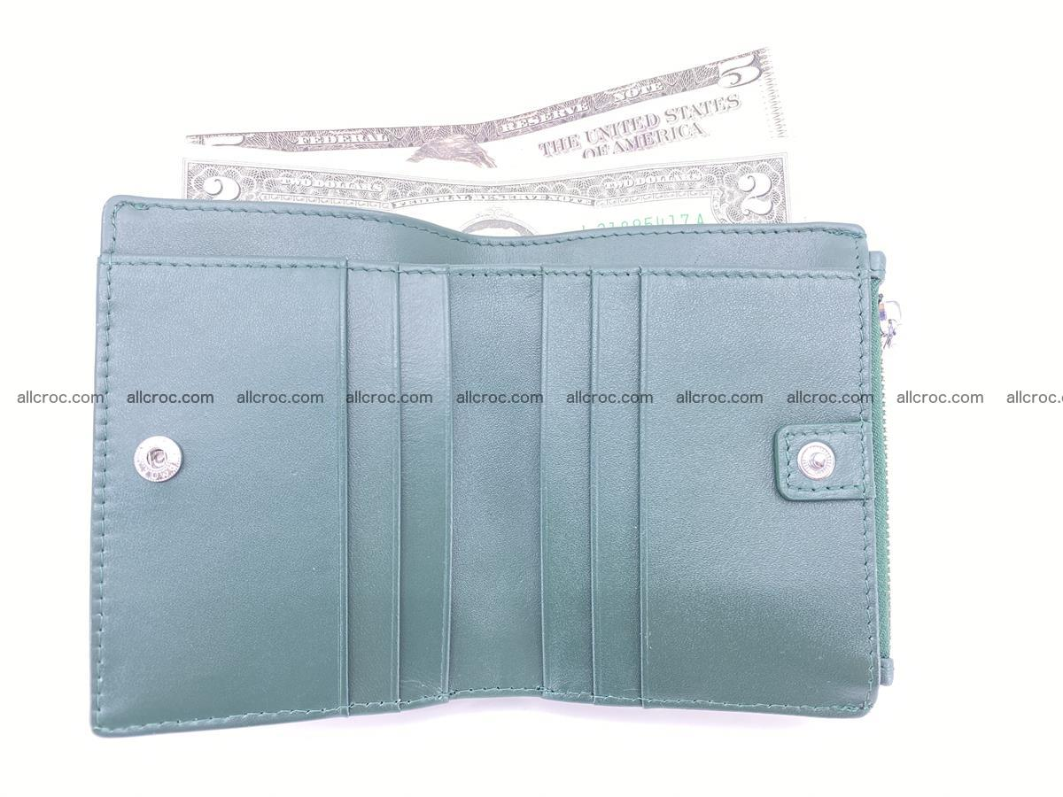 Crocodile leather vertical wallet HK 635 Foto 5