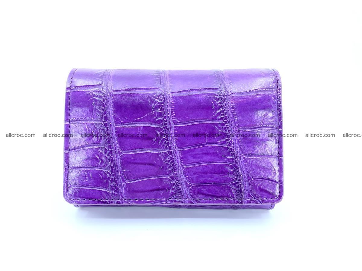 Crocodile leather wallet for women 545 Foto 0