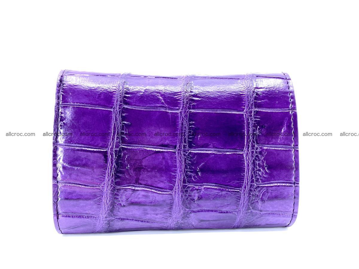 Crocodile leather wallet for women 545 Foto 1
