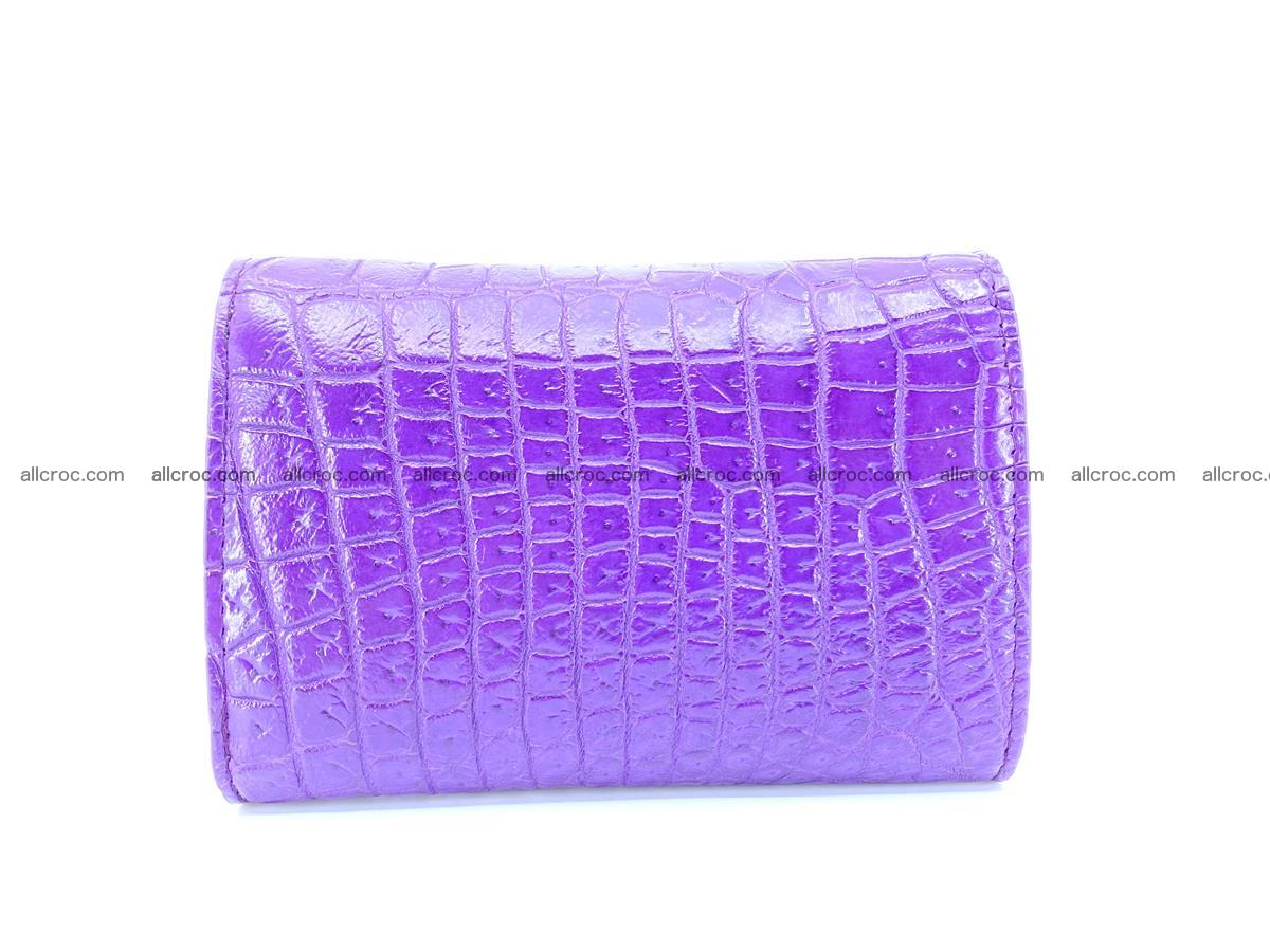 Crocodile leather wallet for women 546 Foto 1
