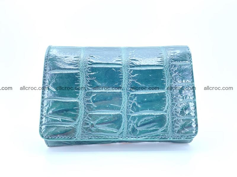 Crocodile leather wallet for women 954