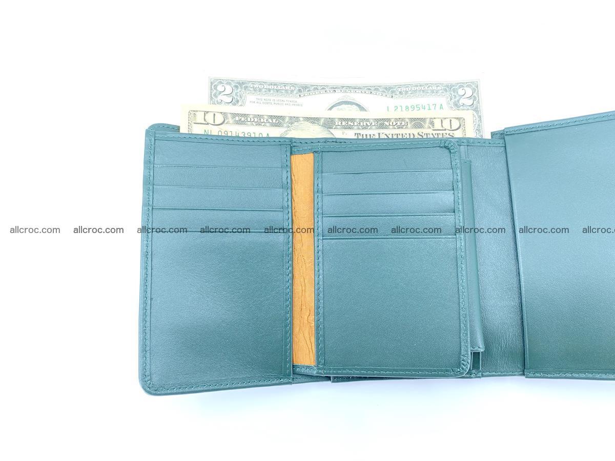 Crocodile leather wallet for women 954 Foto 11