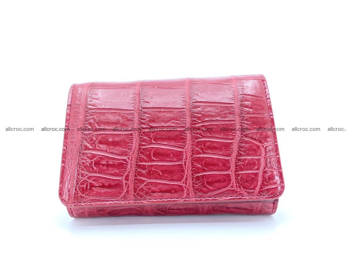 Crocodile leather wallet for women 543 Foto 0