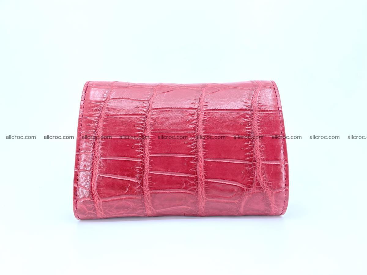 Crocodile leather wallet for women 543 Foto 1