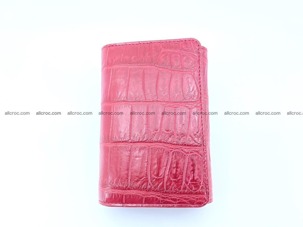 Crocodile leather wallet for women 543 Foto 2