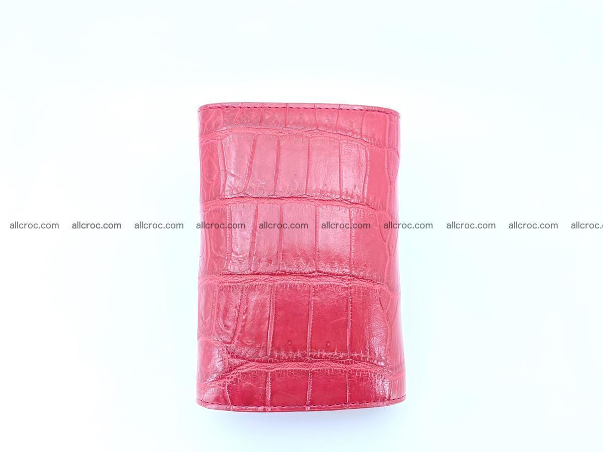 Crocodile leather wallet for women 543 Foto 3