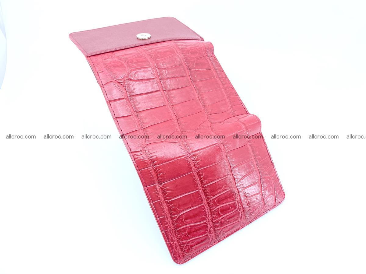 Crocodile leather wallet for women 543 Foto 6
