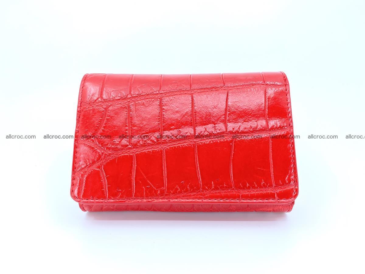 Crocodile leather wallet for women 544 Foto 0