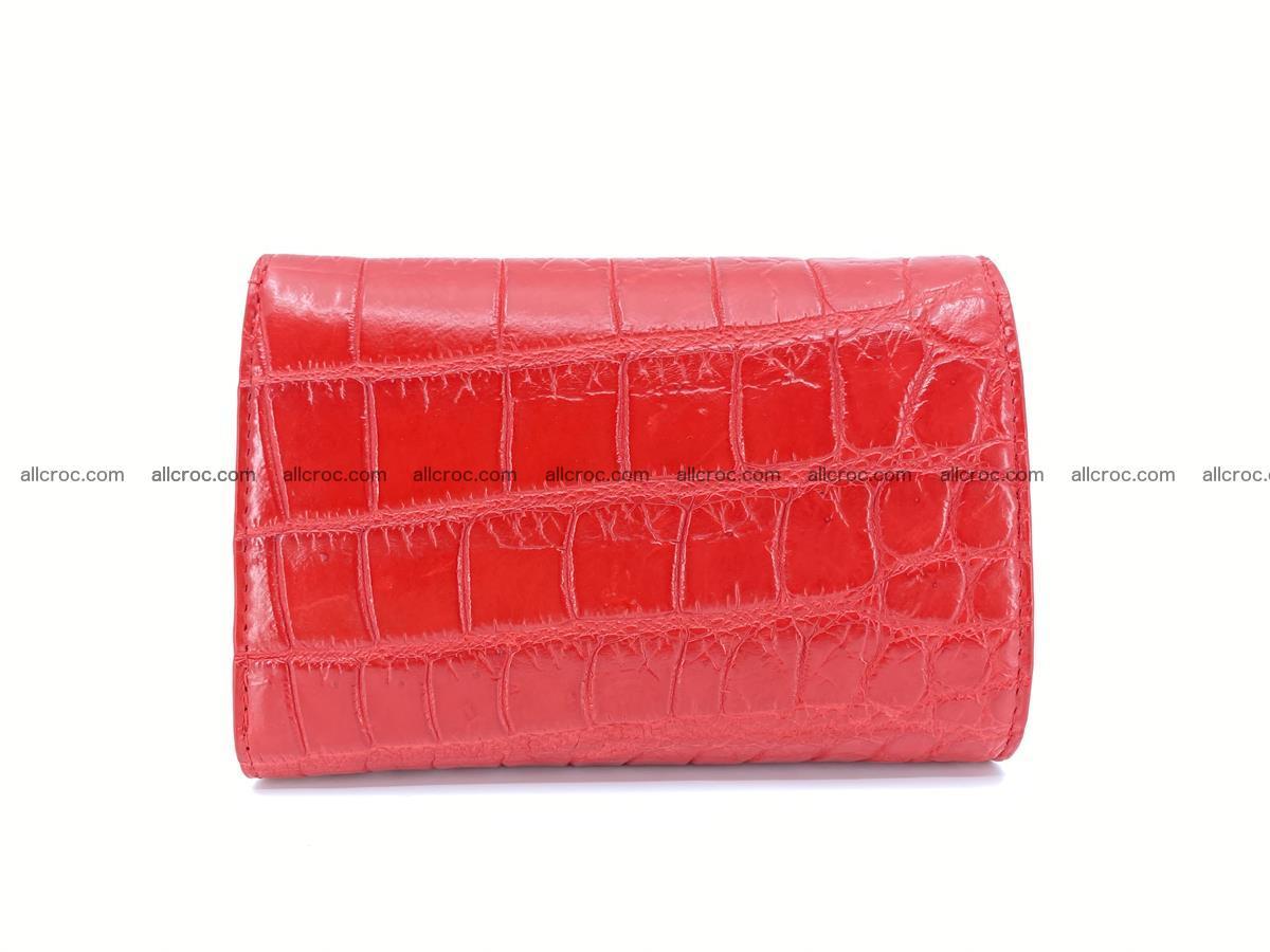 Crocodile leather wallet for women 544 Foto 1