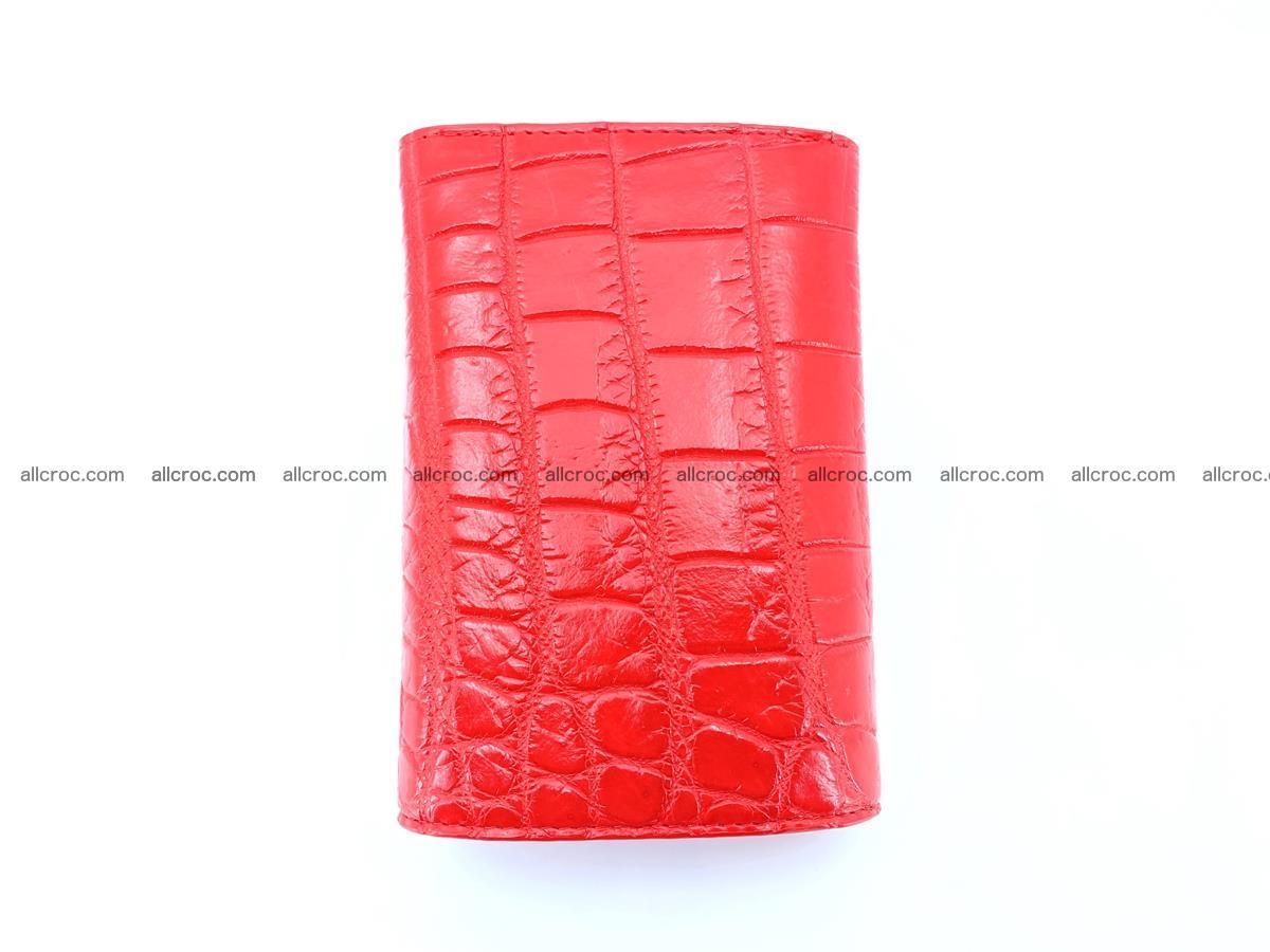 Crocodile leather wallet for women 544 Foto 3