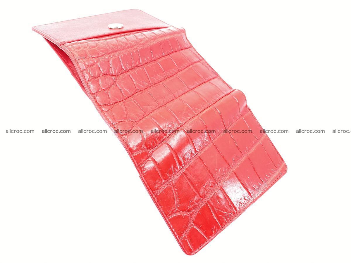 Crocodile leather wallet for women 544 Foto 6