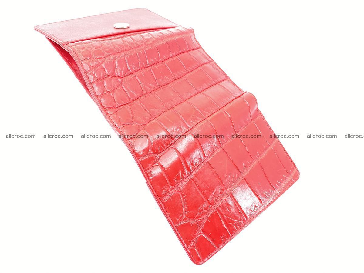 Crocodile leather wallet for women 544 Foto 7
