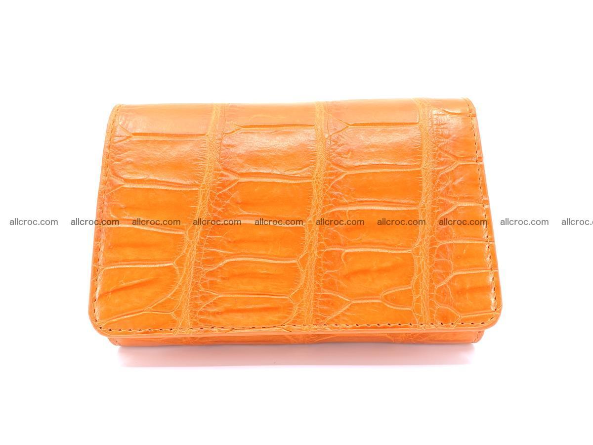 Crocodile leather wallet for women 542 Foto 0