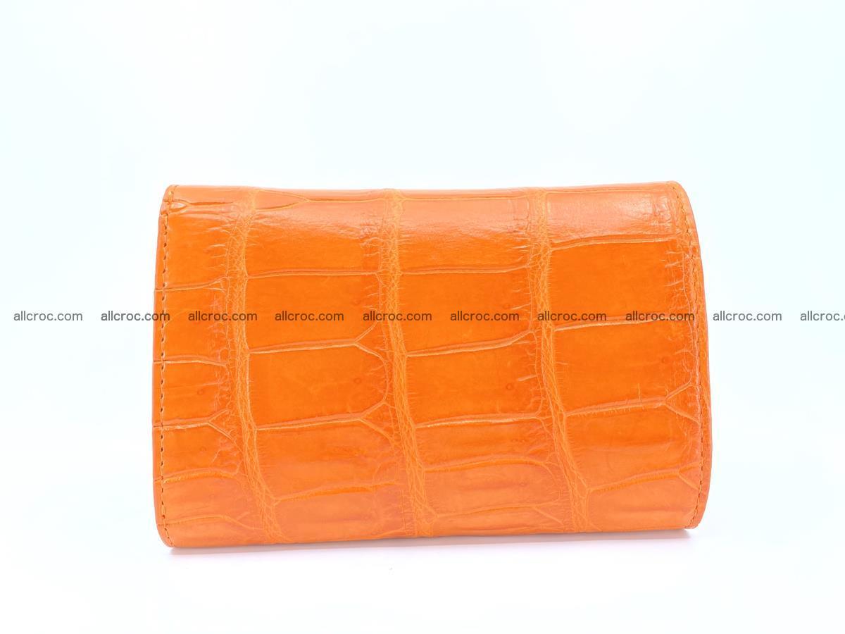 Crocodile leather wallet for women 542 Foto 1