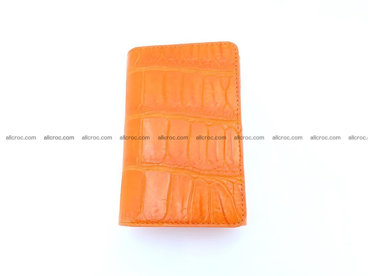 Crocodile leather wallet for women 542 Foto 3
