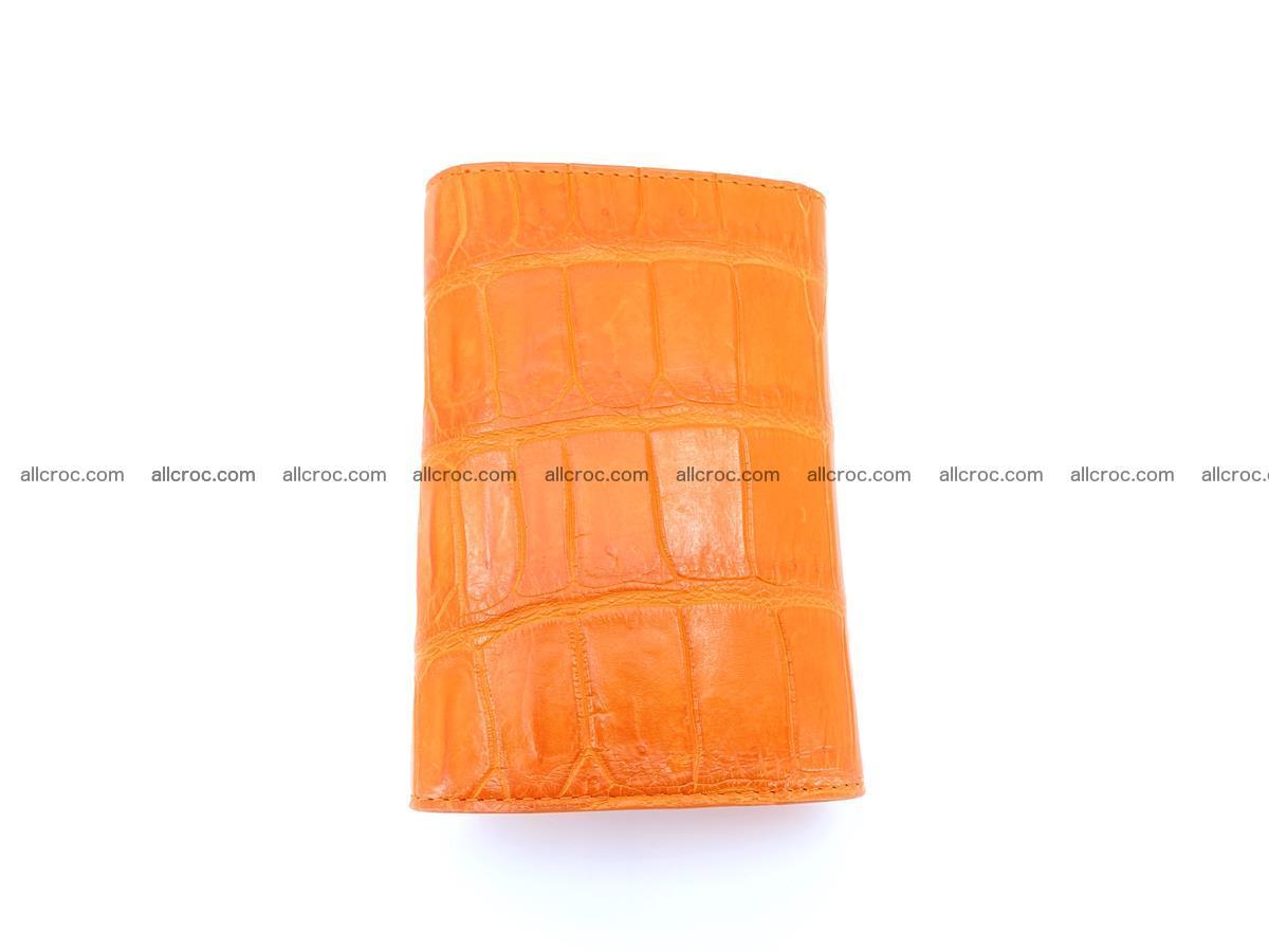 Crocodile leather wallet for women 542 Foto 2