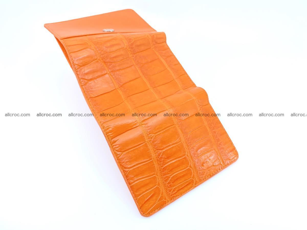 Crocodile leather wallet for women 542 Foto 6
