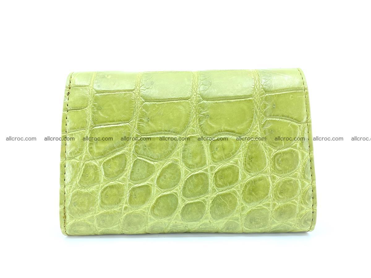 Crocodile leather wallet for women 957 Foto 1