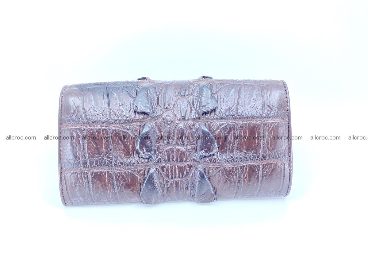 Crocodile leather wallet long wallet trifold 961 Foto 1