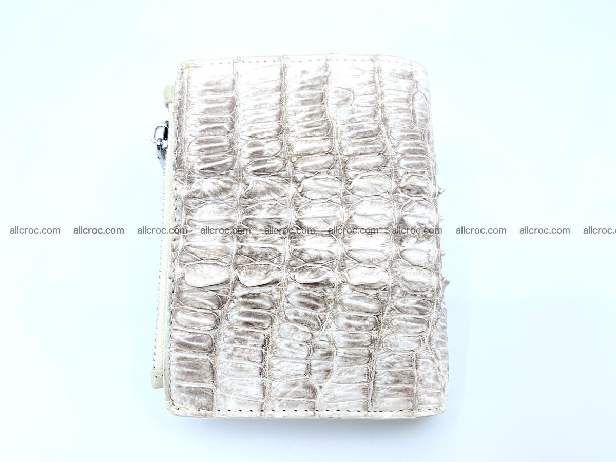 Crocodile leather vertical wallet HK 648 Foto 1