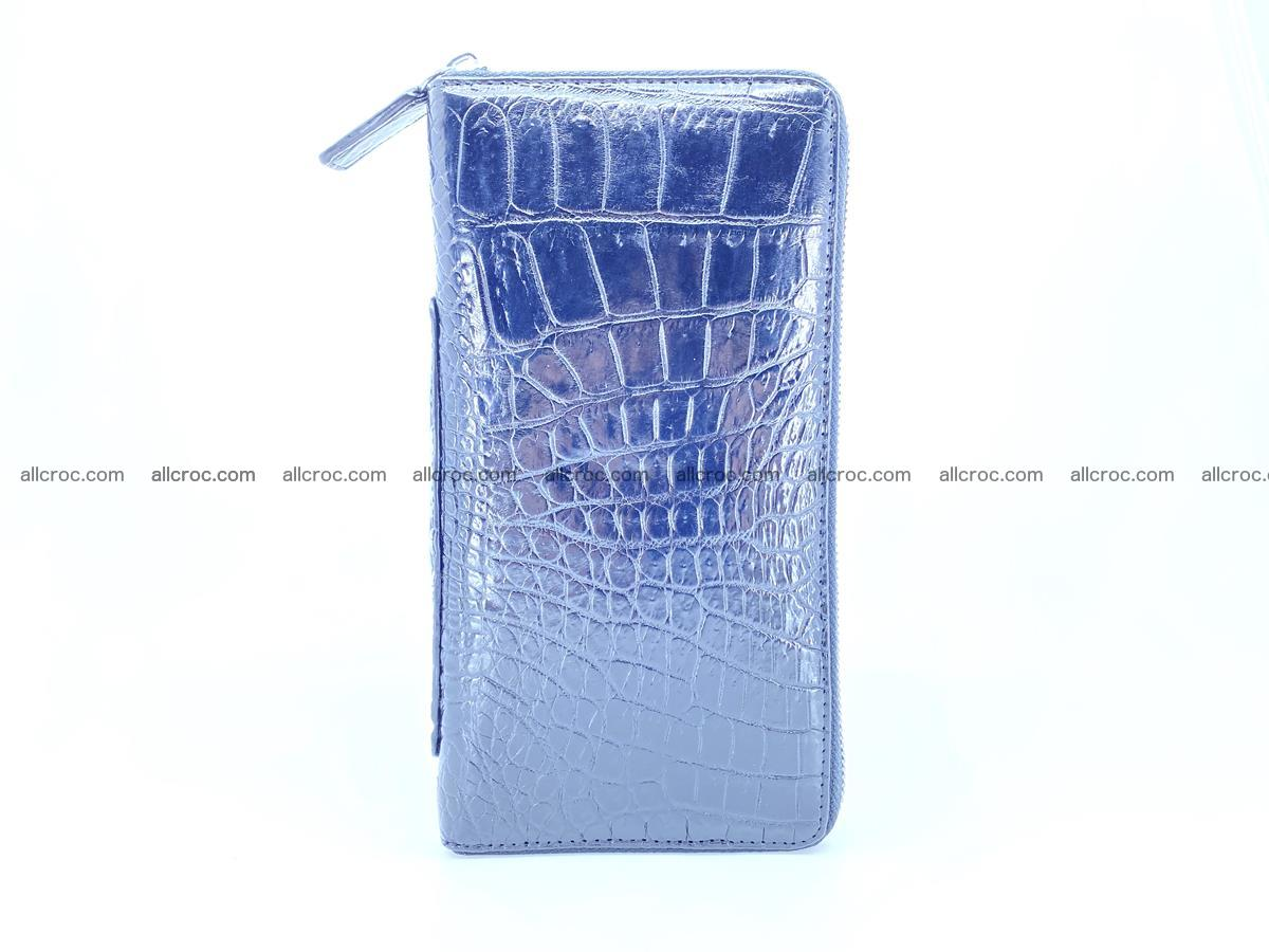 Crocodile skin zip wallet with crocodile paw 540 Foto 4