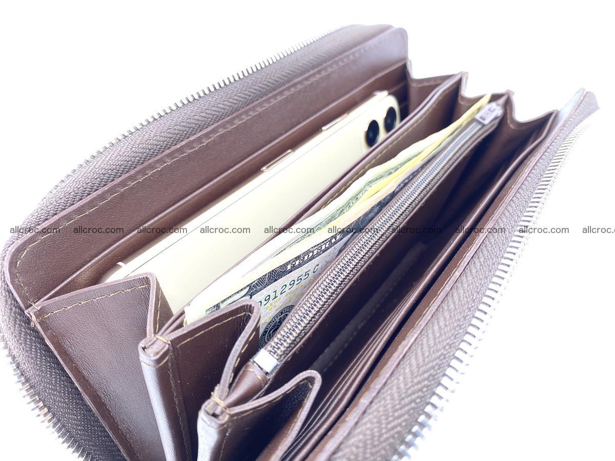 Crocodile leather wallet with crocodile paw 1 zip 541 Foto 15
