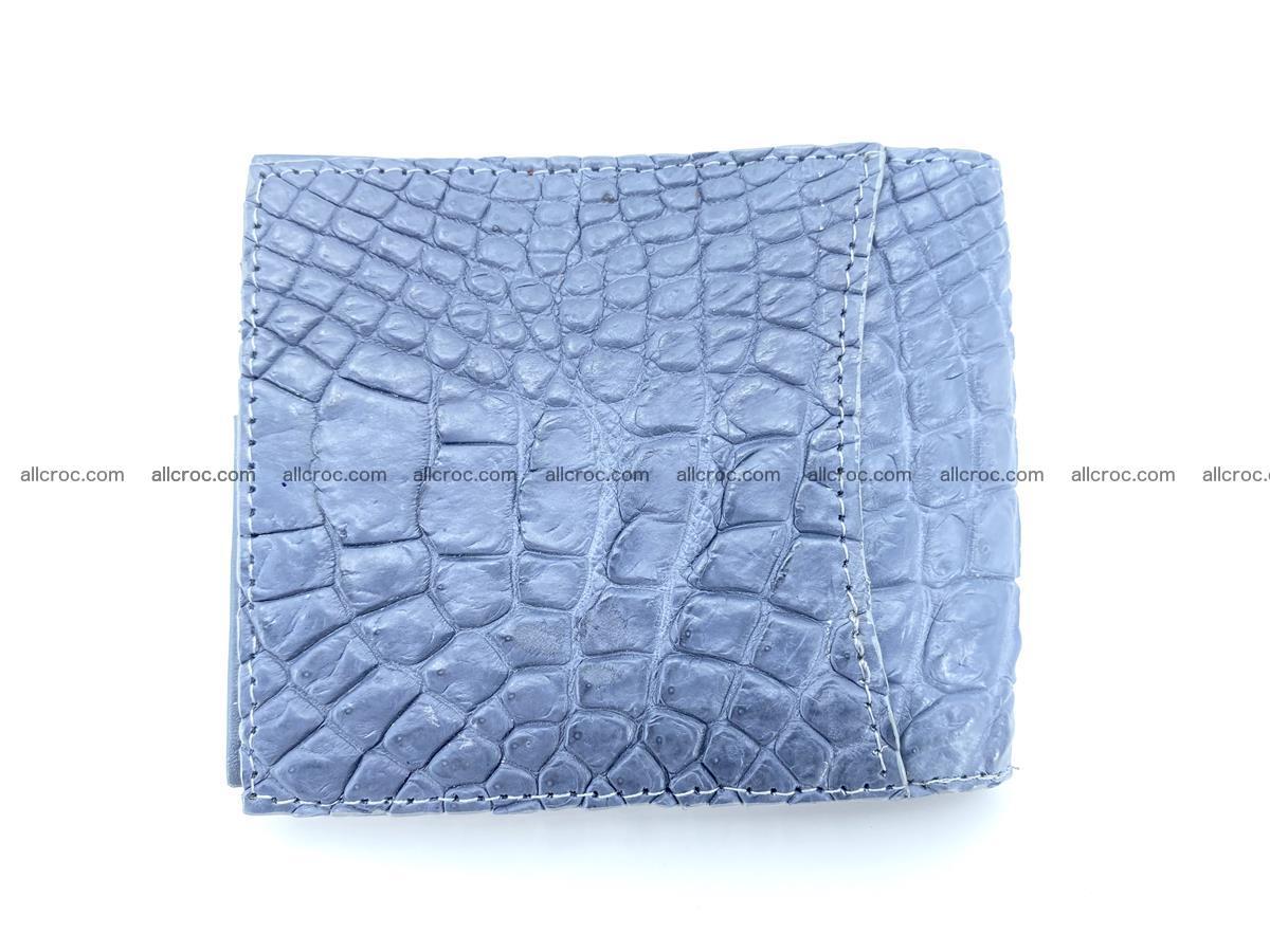Crocodile leather money clip 938 Foto 1