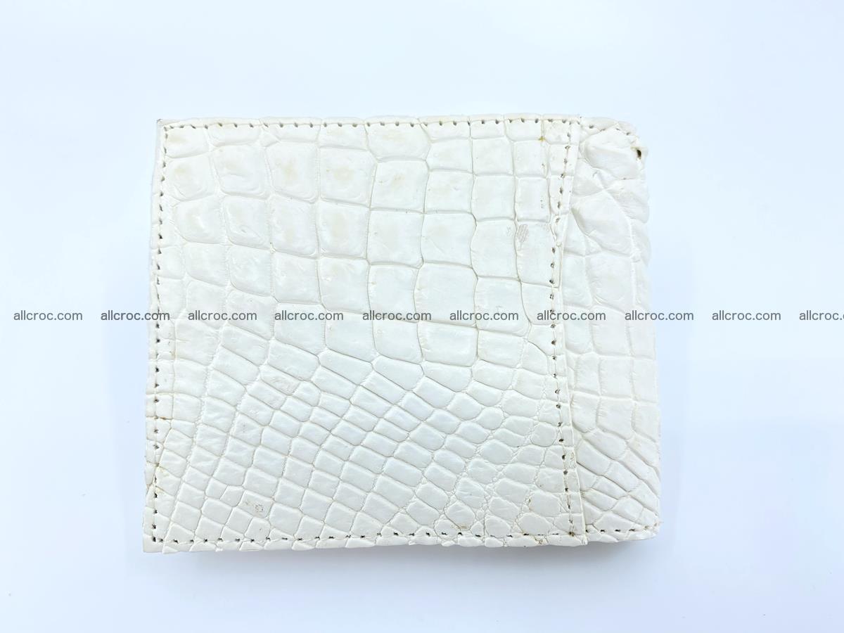 Crocodile leather money clip 941 Foto 1