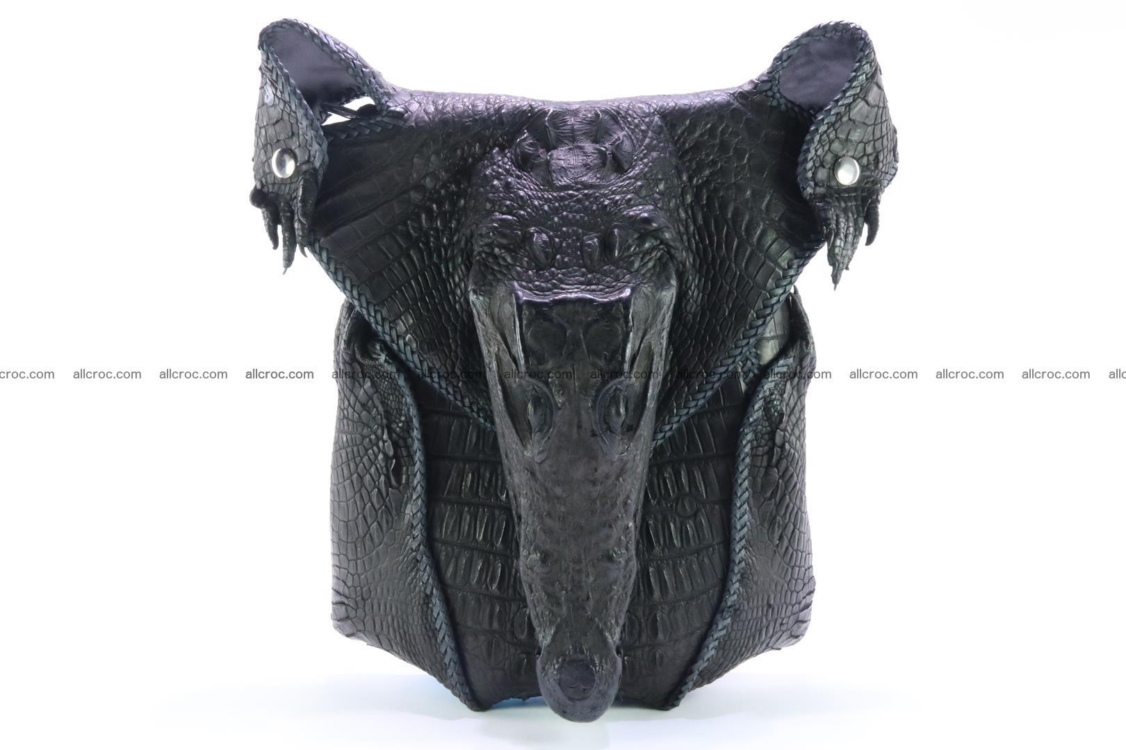 Crocodile skin bag 362 Foto 0