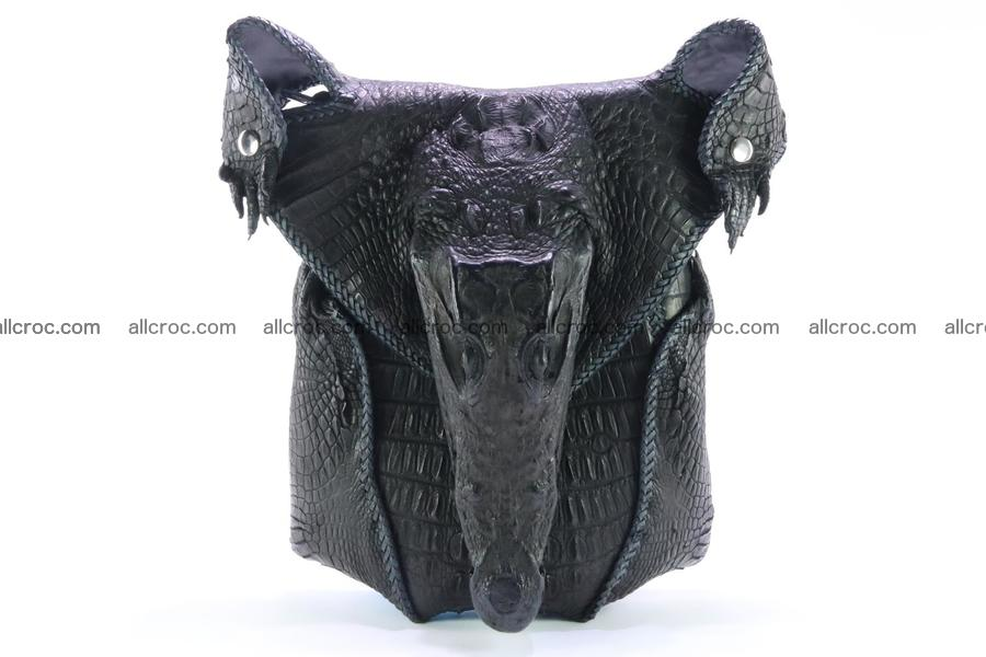 Crocodile skin bag 362