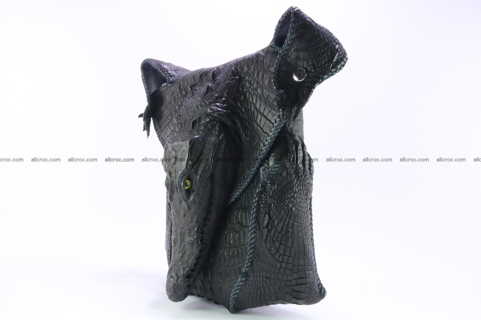 Crocodile skin bag 362 Foto 2