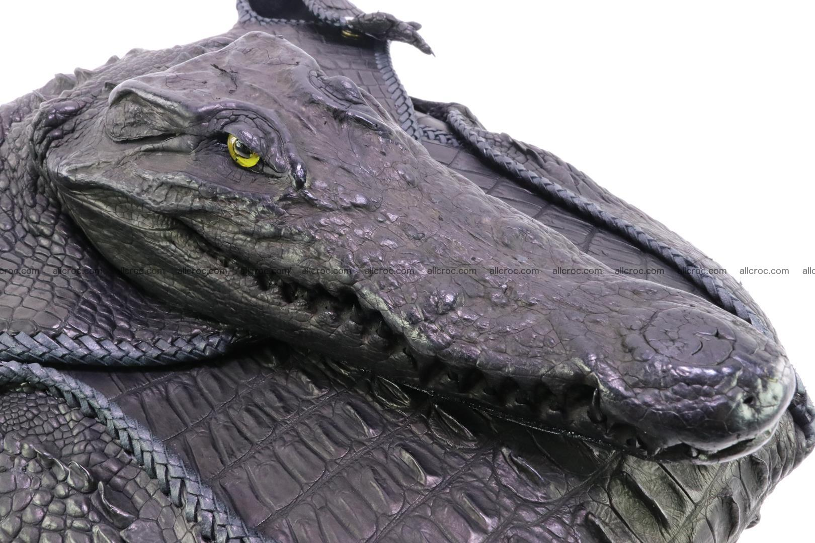 Crocodile skin bag 362 Foto 5