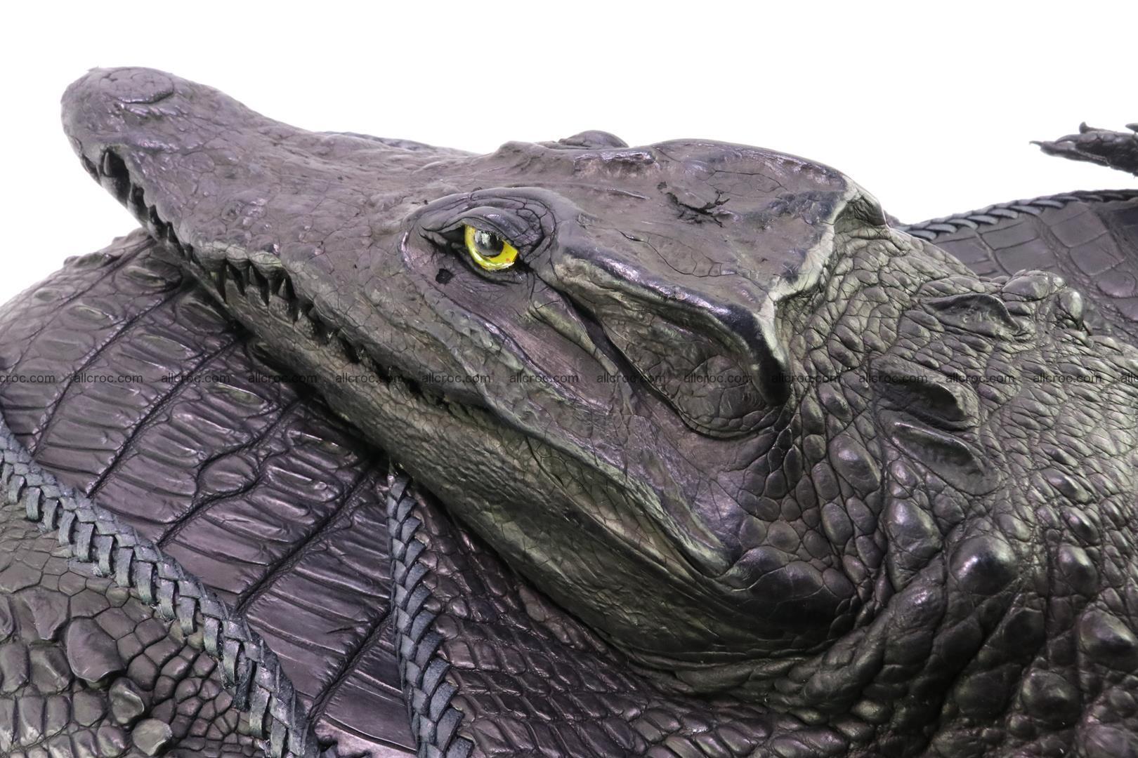 Crocodile skin bag 362 Foto 6