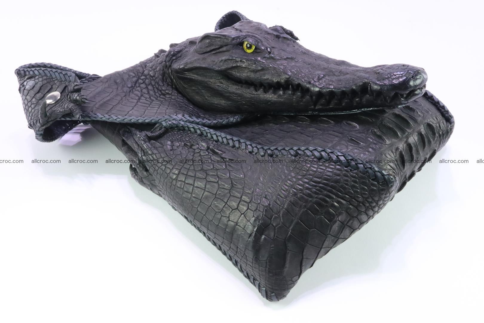 Crocodile skin bag 362 Foto 9