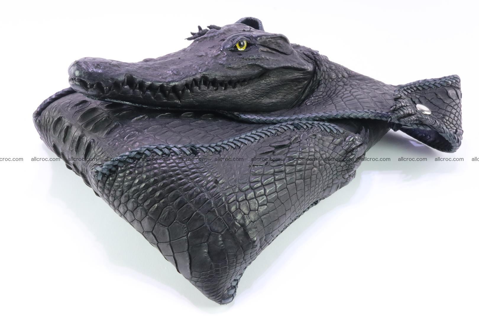 Crocodile skin bag 362 Foto 10