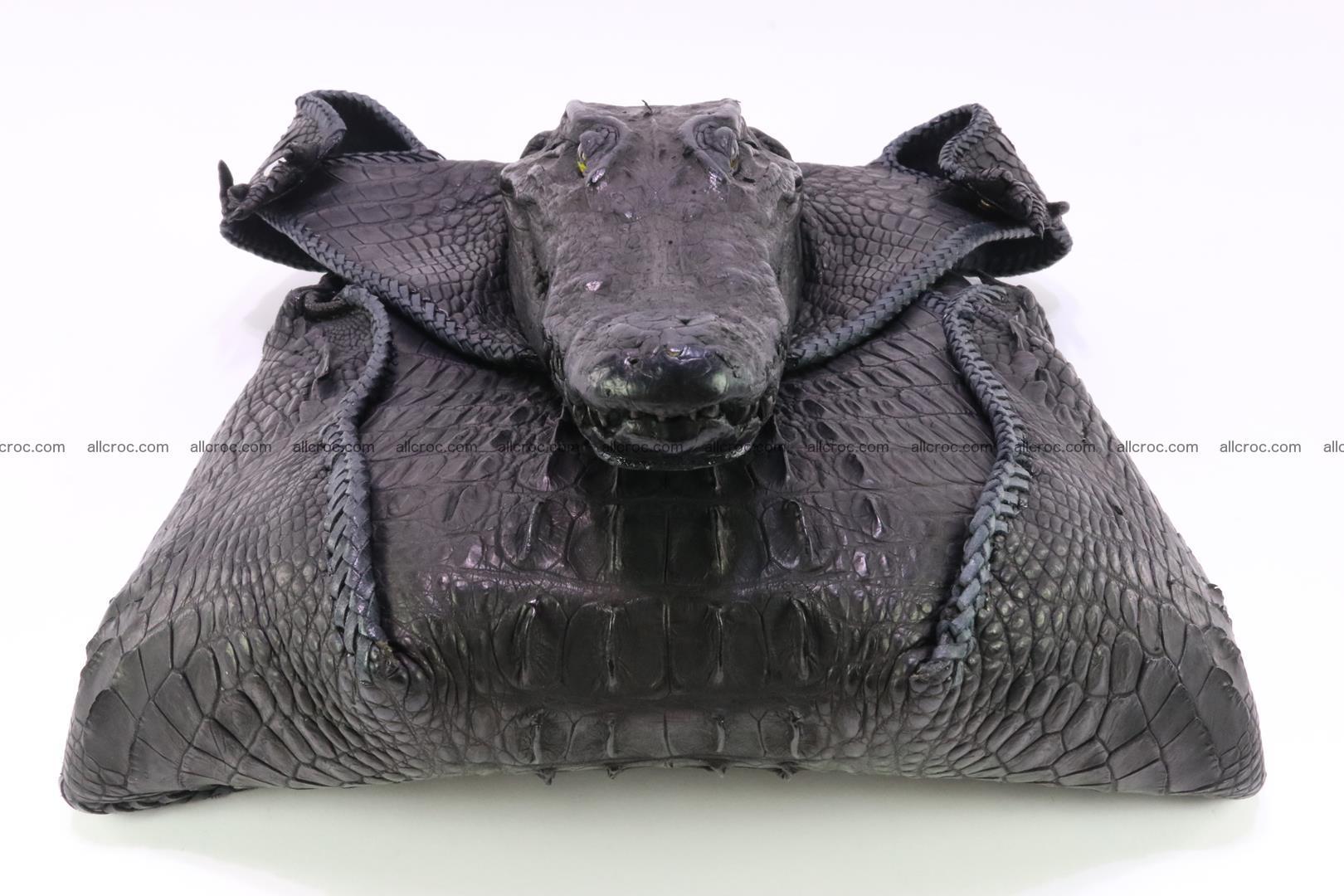 Crocodile skin bag 362 Foto 7
